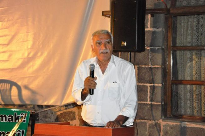 Kürt Kültür Derneği tarafından İlçemizin Belediye Gümrük hanı tesislerinde Şex Said ve Şex Eyyüp Gülpınar'ı anma gecesi düzenlendi.