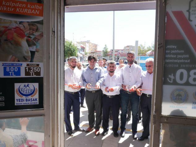 'ŞEFKAT MAĞAZASI' MUHTAÇLARA BAYRAM SEVİNCİ OLUYOR