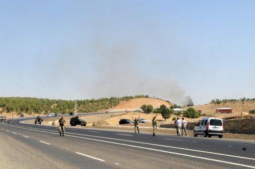 Bingöl'de Askeri Araca Saldırı