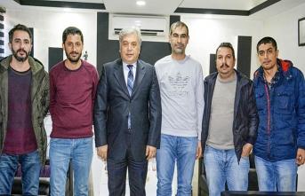 Emniyet Müdürü Yıldırım'dan gazetecilere ziyaret