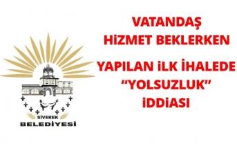 """Siverek Belediyesi'nde temizlik ihalesinde """"yolsuzluk"""" iddiası"""