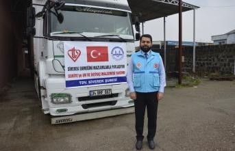 Siverek'ten İdlib'e yardım