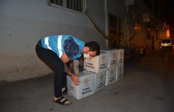 Karantina'da bulunan Ailelerin ihtiyaçları karşılanıyor