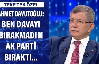 Davutoğlu, '7 Haziran' sonrasının perde arkasını açıkladı; CHP ile koalisyon itirafı...