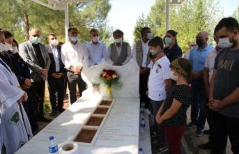 İbrahim Ayhan mezarı başında anıldı
