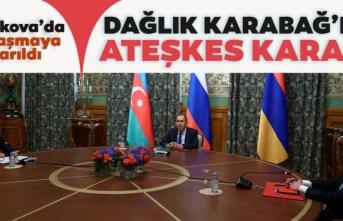 Azerbaycan ve Ermenistan, Dağlık Karabağ'da ateşkes kararı aldı