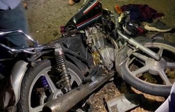 Siverek'te Motosikletli Trafik Kazası 2 Yaralı
