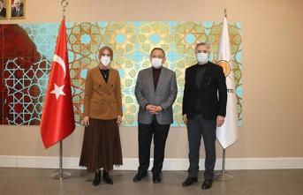 Başkan Çakmak Ankara'da temaslarda bulundu