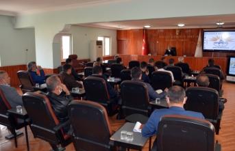 Belediye Başkanı Çakmak Birim Müdürleri ile koordinasyon toplantısı gerçekleştirdi