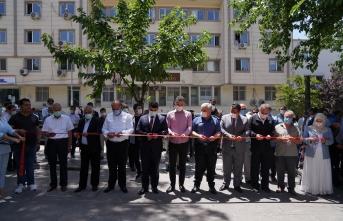Siverek'te 'Hayat boyu öğrenme haftası' kapsamında sergi açıldı