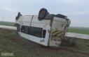 Öğretmenleri taşıyan minibüs takla attı: 12...