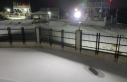 Karacadağ'a mevsim ilk kar'ı yağdı