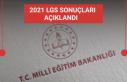2021 LGS tercih sonuçları açıklandı