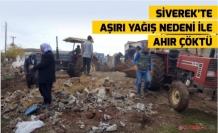 Siverek'te Aşırı Yağış Nedeni İle Ahır Çöktü