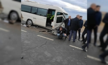 Meydana Gelen Trafik Kazasında Yaralılar Var