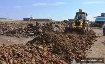 Siverek'te yeni yerleşim alanlarında çalışmalar sürüyor