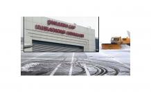 Şanlıurfa'da hava ulaşımına kar engeli