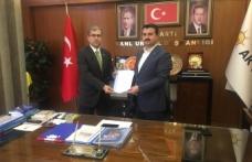 TÜGVA İlçe Başkanı Ak Parti'den Mahmut Bahçıvan Aday Adayı Oldu