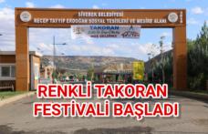 Takoran Geleneksel Kültür ve Doğa festivali başladı