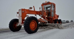 Siverek'te Kar Yağışı Etkili Oldu