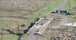 Tarihi Taş köprü Onarılıyor