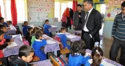 Kaymakam Erkal'dan Köy Okullarına İnceleme