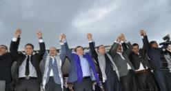 Dişişleri Bakanı Davutoğlu Siverek'te
