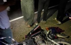Siverek'te Motosikletli Trafik Kazası