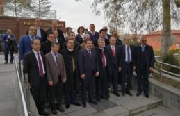 AK Parti Şanlıurfa belediye başkan adaylarıyla...