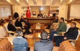 Gazetecilerden Emniyet Müdürü Doğuş'a Ziyaret