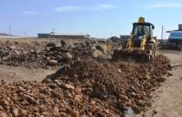 Siverek'te yeni yerleşim alanlarında çalışmalar...