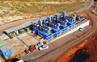 Urfa'da çöplerden artık elektrik üretiliyor