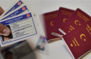 Pasaport, ehliyet harçları, trafik cezaları yüzde...