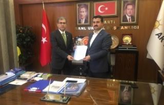 TÜGVA İlçe Başkanı Ak Parti'den Mahmut Bahçıvan...