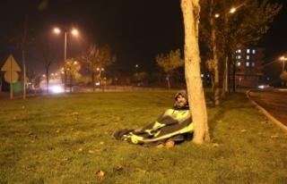 Siverek'te Sokakta yatan adamın gerekçesi yürek...