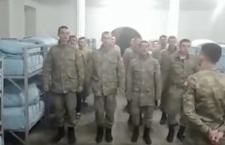 Siverekli Başkan Adayına Selam Gönderen Askerlere...