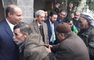 Ak Parti Siverek Belediye Başkan Adayı Aydın'a...