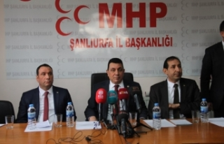 MHP Urfa vekilinden Fatih Bucak açıklaması