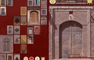 Siverek Mimari Mirasın Korunma Çalıştayı Düzenlenecek
