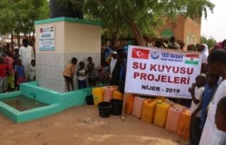 Siverekli Öğrenciler Nijer Kollo'da Su Kuyusu...
