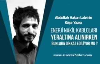 Enerji Nakil Kabloları Yeraltına Alınırken Bunlara...