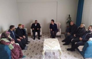 HÜDA-PAR İl Başkanı Erat'tan Hasan Adsoy'un...