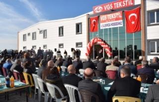 Viranşehşir'de İlk Tekstil Fabrikasının Açılışı...