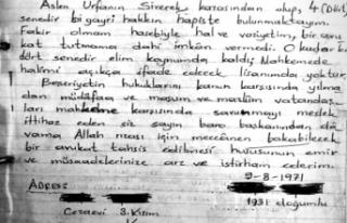 Siverekli mahkumdan Kayseri Barosuna Mektup Büyük...