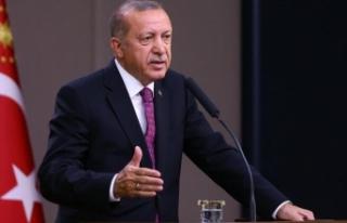 Cumhurbaşkanı Recep Tayyip Erdoğan Bakanlar kurulu...
