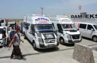 KKTC'de mahsur kalan Siverekli işçilerin Yardımına...
