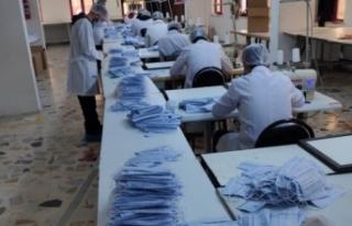 Siverek'te Karantina altına alınan tekstil...