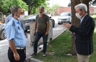 Siverek Belediye Başkanı Aydın, esnafla görüştü,...