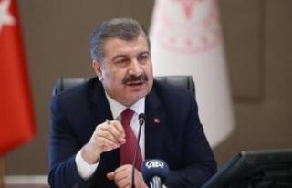Sağlık Bakanı açıkladı: Şanlıurfa ikinci sırada...