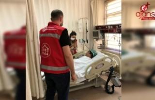 Urfa'da işkence gören kadına sosyal destek
